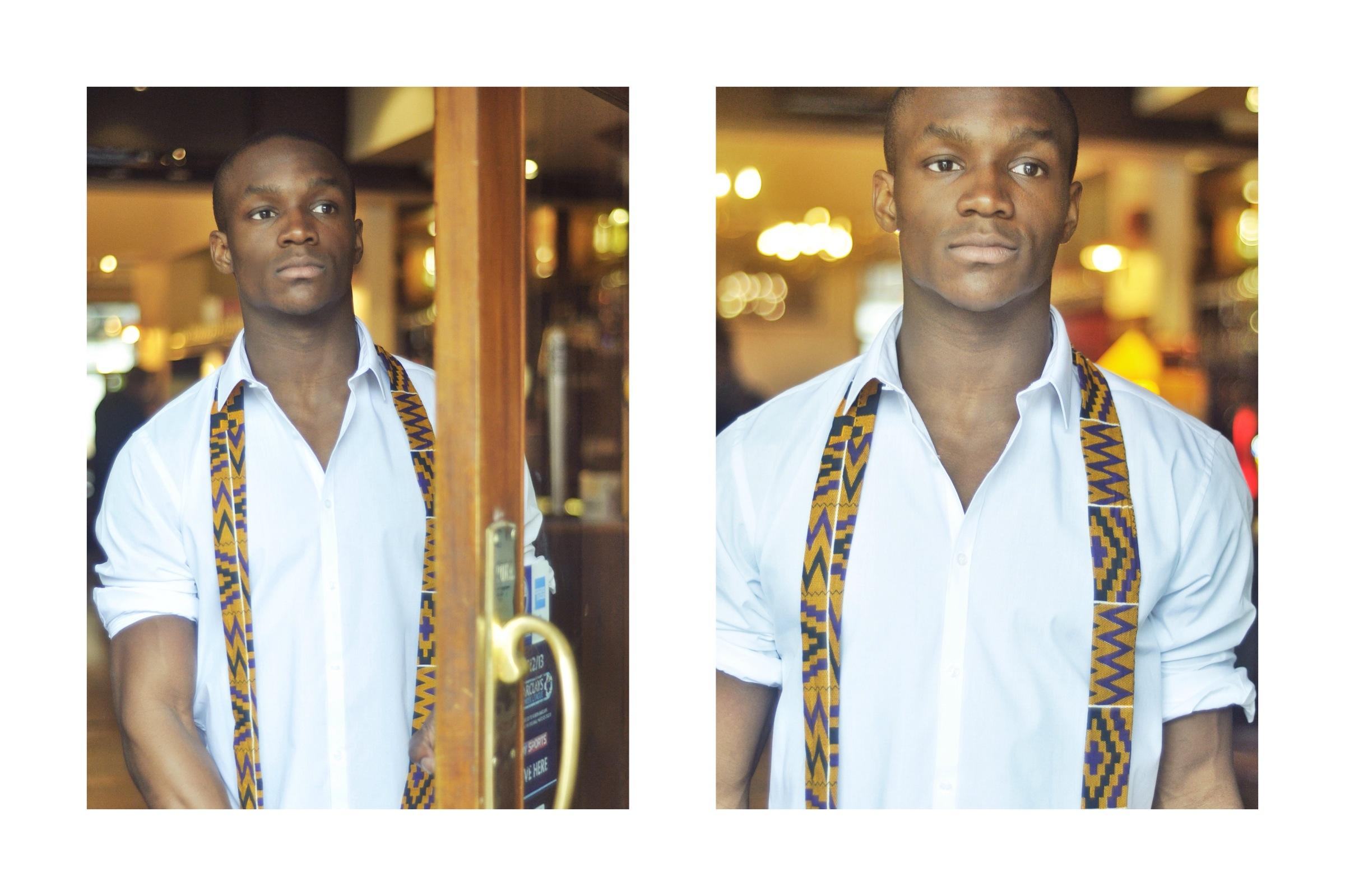 Kente Skinny Tie